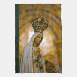 Our Lady of Fatima Hand Towel