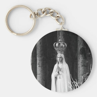 Our Lady of Fatima Keychain