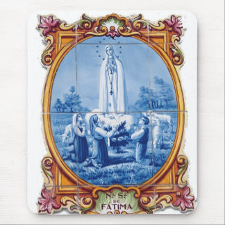 Our Lady of Fatima Mouse Pad