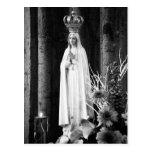 Our Lady of Fatima Postcard
