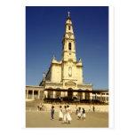 Our Lady of Fatima shrine, Lisbon Portugal Post Card