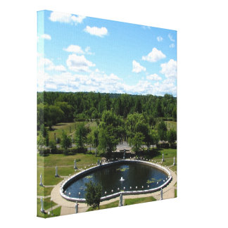 Our Lady of Fatima Shrine Wrapped Canvas Print