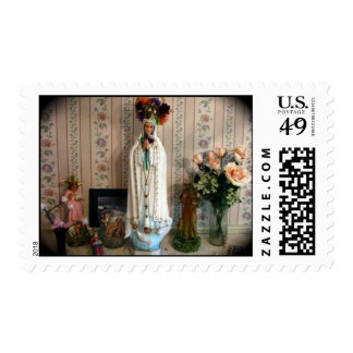 Our Lady of Fatima Stamp