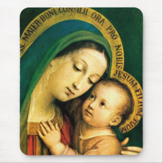 Our Lady Of Good Counsel Mouse Pad