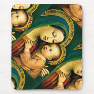 our lady of good counsel please pray for us ! mouse pad