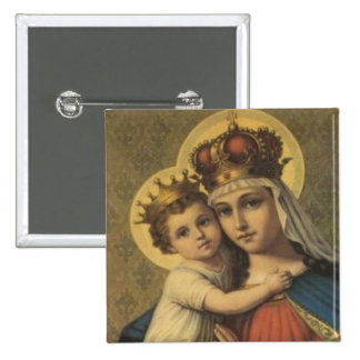 Our Lady of Good Remedy Button