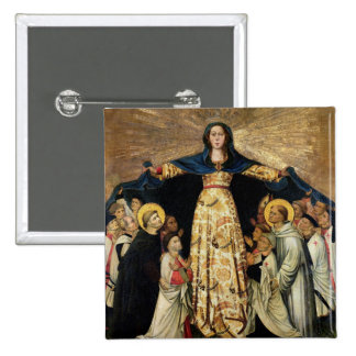 Our Lady of Grace and the Masters of the Order of Pinback Buttons