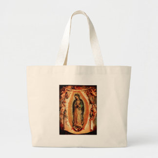 Our Lady of Guadalupe and the Angels Jumbo Tote Bag