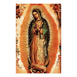 Our Lady of Guadalupe and the Angels Stationery