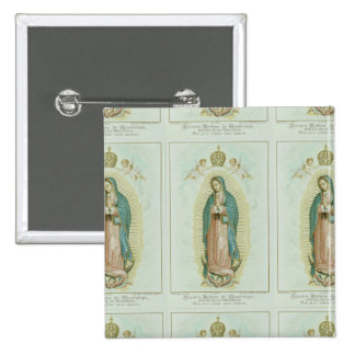 Our Lady Of Guadalupe Pinback Buttons