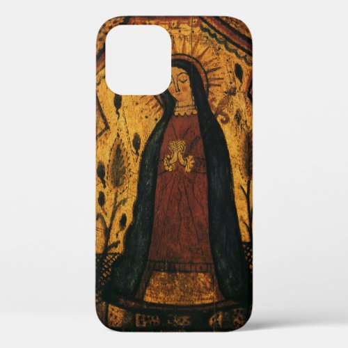 Our Lady of Guadalupe by Pedro Antonio Fresquis Phone Case