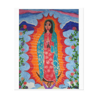Our Lady of Guadalupe Stretched Canvas Prints