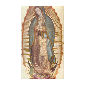 our lady of guadalupe canvas prints