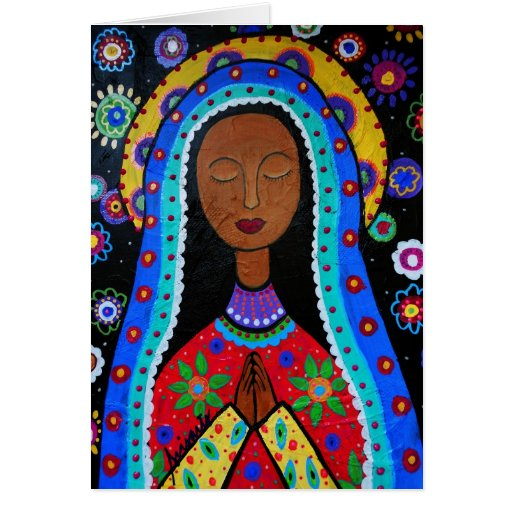 Our Lady of Guadalupe Cards Card