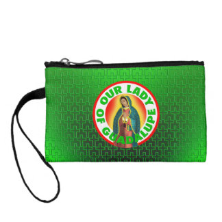Our Lady of Guadalupe Coin Wallet