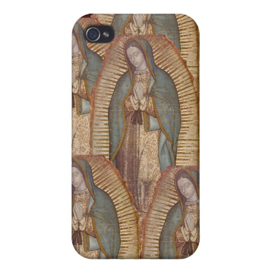 OUR LADY OF GUADALUPE COVER FOR iPhone 4