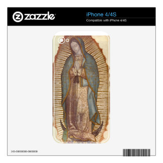 OUR LADY OF GUADALUPE DECAL FOR THE iPhone 4S