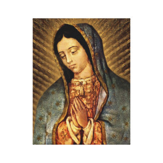 Our Lady of Guadalupe Devotional Image Canvas Print