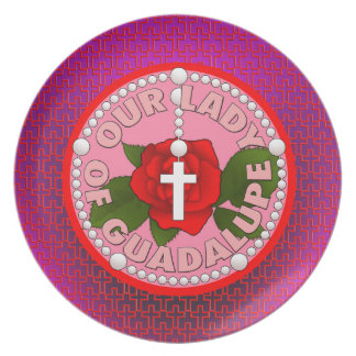 Our Lady of Guadalupe Dinner Plate