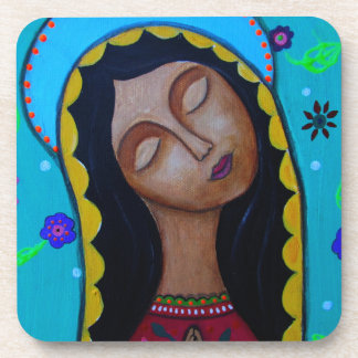 Our Lady of Guadalupe Drink Coaster