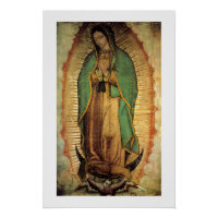 Our Lady of Guadalupe Framable Poster