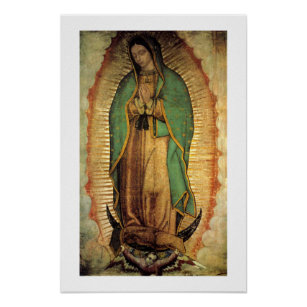 Our Lady Of Guadalupe Posters Photo Prints Zazzle