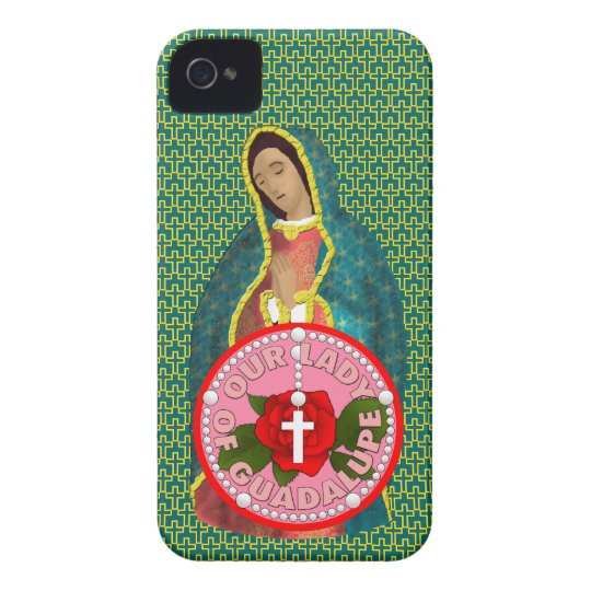 Our Lady of Guadalupe iPhone 4 Case-Mate Case