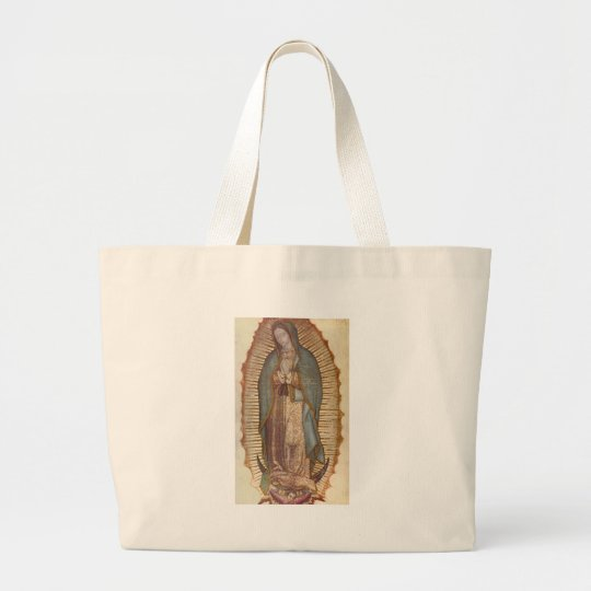 OUR LADY OF GUADALUPE LARGE TOTE BAG