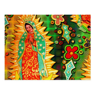 Our Lady of Guadalupe Mexico Postcard