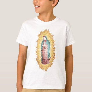 Our Lady Of Guadalupe Mosaic Design T-Shirt