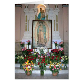 Our Lady of Guadalupe Note Card