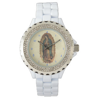 Our Lady of Guadalupe Original Saint of Americas Wristwatch