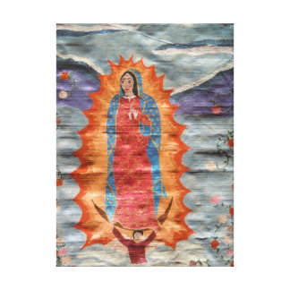 Our Lady of Guadalupe (Papyrus Version) Canvas Prints