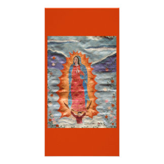 Our Lady of Guadalupe (Papyrus Version) Card