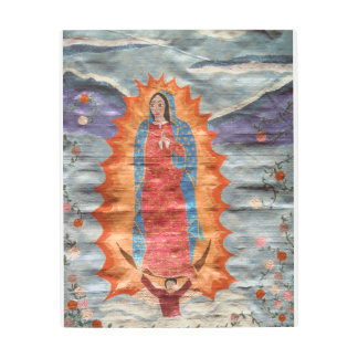 Our Lady of Guadalupe (Papyrus Version) Metal Print