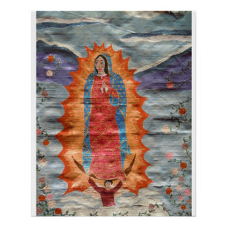 Our Lady of Guadalupe (Papyrus Version) Poster