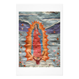 Our Lady of Guadalupe (Papyrus Version) Stationery