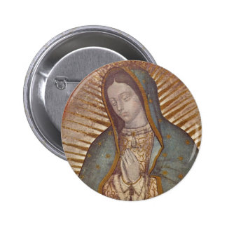 OUR LADY OF GUADALUPE PINBACK BUTTON
