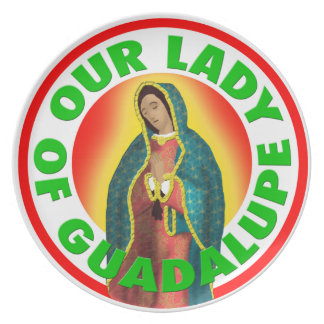 Our Lady of Guadalupe Plate