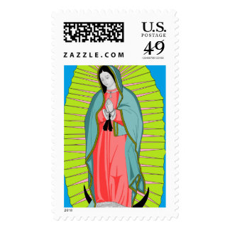 our lady of guadalupe postage
