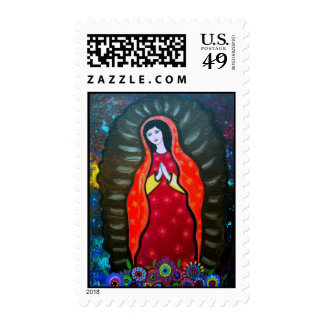 OUR LADY OF GUADALUPE POSTAGE STAMPS
