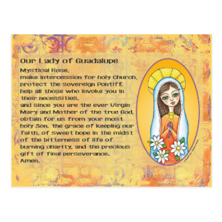 Our Lady of Guadalupe Postcard