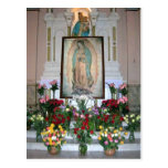 Our Lady of Guadalupe Postcard Post Card