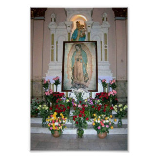 Our Lady of Guadalupe Poster Poster