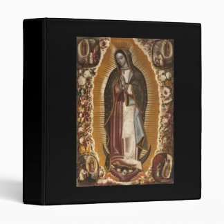 OUR LADY OF GUADALUPE PRAY FOR US BINDER