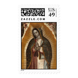 OUR LADY OF GUADALUPE PRAY FOR US POSTAGE STAMPS