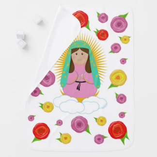 Our Lady of Guadalupe Receiving Blanket