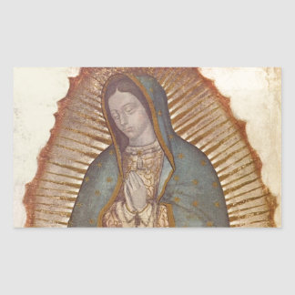 Our Lady of Guadalupe Rectangular Sticker