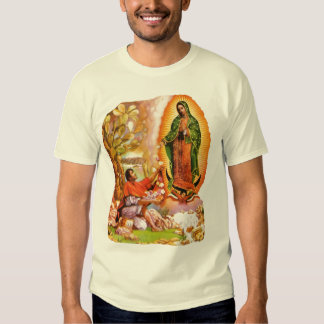 Our Lady of Guadalupe & Saint Juan Diego T Shirt