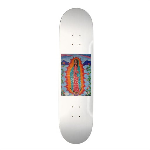 Our Lady of Guadalupe Skate Board Decks